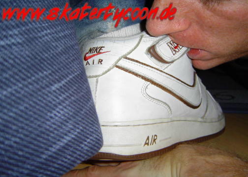 Lick Girl Nike Air Force Lebron James Flywire Nike Zoom Blue